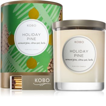 KOBO Holiday Holiday Pine scented candle