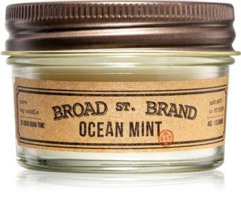 KOBO Broad St. Brand Ocean Mint vonná sviečka I. (apothecary)