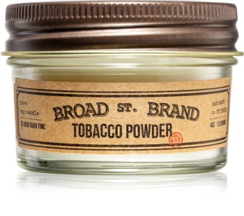 KOBO Broad St. Brand Tobacco Powder scented candle I. (Apothecary)