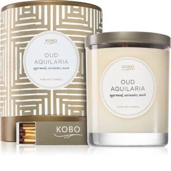 KOBO Aurelia Oud Aquilaria ароматическая свеча