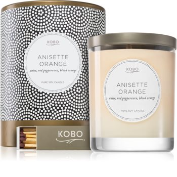 KOBO Coterie Anisette Orange scented candle