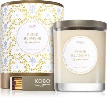 KOBO Motif Figue Blanche candela profumata