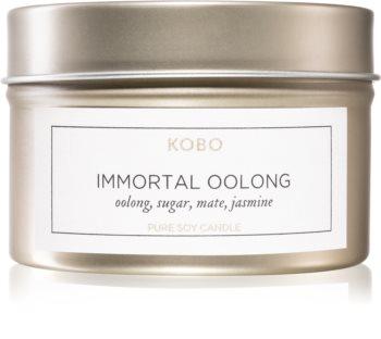 KOBO Camo Immortal Oolong αρωματικό κερί σε μετταλικό βάζο
