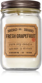 KOBO Broad St. Brand Fresh Grapefruit aроматична свічка (Apothecary)