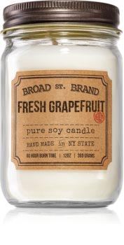 KOBO Broad St. Brand Fresh Grapefruit candela profumata (Apothecary)