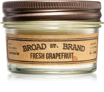 KOBO Broad St. Brand Fresh Grapefruit ароматна свещ  I. (Apothecary)