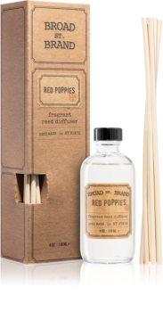 KOBO Broad St. Brand Red Poppies dyfuzor zapachowy z napełnieniem