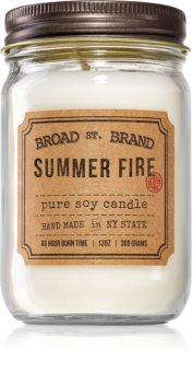KOBO Broad St. Brand Summer Fire scented candle (Apothecary)
