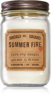 KOBO Broad St. Brand Summer Fire Tuoksukynttilä (Apothecary)
