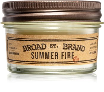 KOBO Broad St. Brand Summer Fire bougie parfumée I. (Apothecary)