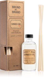 KOBO Broad St. Brand Summer Fire aromadiffusor med opfyldning