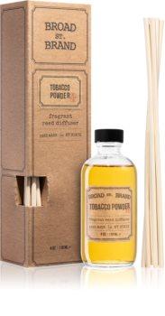 KOBO Broad St. Brand Tobacco Powder diffuseur d'huiles essentielles avec recharge