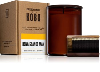 KOBO Woodblock Renaissance Man geurkaars