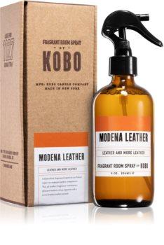 KOBO Woodblock Modena Leather odświeżacz w aerozolu