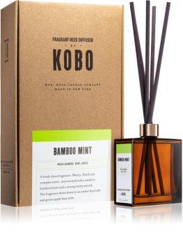 KOBO Woodblock Bamboo Mint aromdiffusor med refill