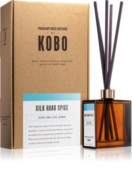 KOBO Woodblock Silk Road Spice diffuseur d'huiles essentielles avec recharge