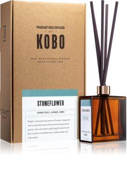 KOBO Woodblock Stoneflower aromadiffusor med opfyldning