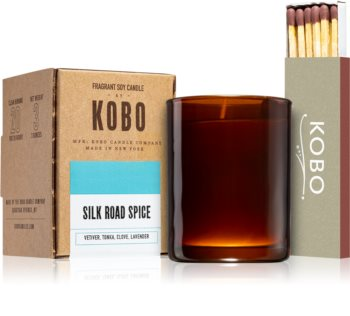 KOBO Woodblock Silk Road Spice Votivkerze