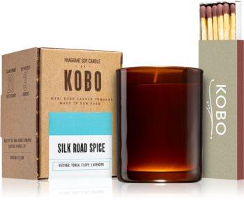 KOBO Woodblock Silk Road Spice votívna sviečka
