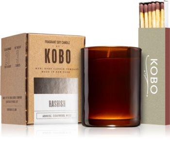 KOBO Woodblock Hashish votivní svíčka