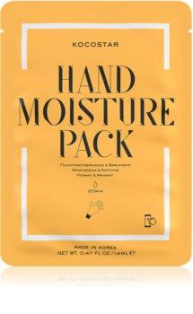 KOCOSTAR Hand Moisture Pack nyugtató és hidratáló maszk kézre