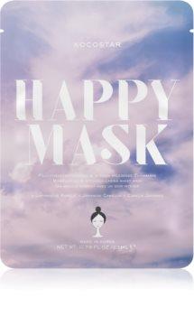 KOCOSTAR Happy Mask maska pielęgnująca w płacie o działaniu nawilżającym