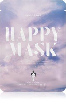 KOCOSTAR Happy Mask pflegende Tuchmaske mit feuchtigkeitsspendender Wirkung