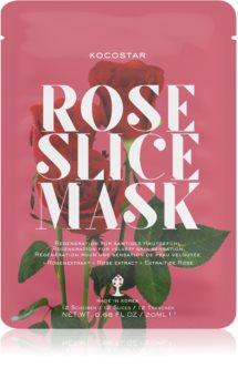 KOCOSTAR Rose Mask Sheet Sheet Mask For Skin Renewal