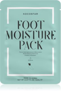 KOCOSTAR Foot Moisture Pack ενυδατική μάσκα Για τα πόδια