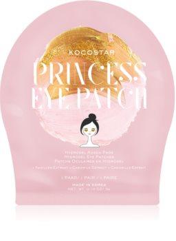 KOCOSTAR Princess Eye Patch hidrogel maska za područje oko očiju za mladenački izgled