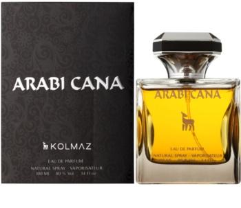 Kolmaz Arabi Cana Eau de Parfum για άντρες
