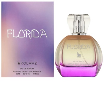 Kolmaz Florida eau de parfum para mulheres