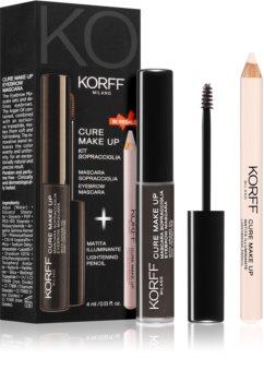 Korff Cure Makeup комплект за вежди