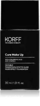Korff Cure Makeup течен фон дьо тен за естествен вид