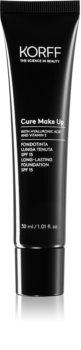 Korff Cure Makeup langanhaltende Foundation LSF 15