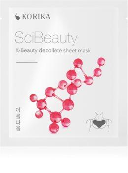 KORIKA SciBeauty maschera in tessuto antirughe per il décolleté
