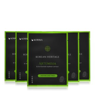KORIKA Korean Heritage face mask set at a reduced price (with Soothing Effect)