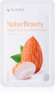 KORIKA NaturBeauty mască textilă nutritivă