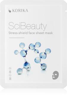 KORIKA SciBeauty stress-shield face sheet mask