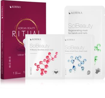 KORIKA Korean Beauty Ritual Intense Hydration Gesichtsmasken-Set