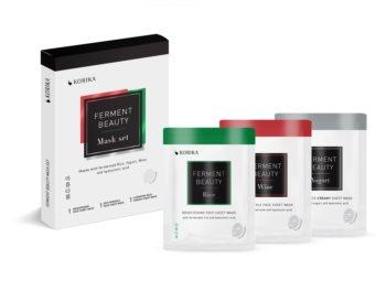 KORIKA FermentBeauty Gesichtsmasken-Set