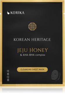 KORIKA Korean Heritage maschera in tessuto effetto detergente