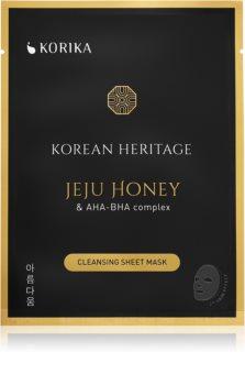 KORIKA Korean Heritage plátýnková maska s čisticím efektem