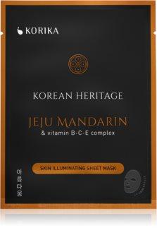 KORIKA Korean Heritage Brightening Face Sheet Mask
