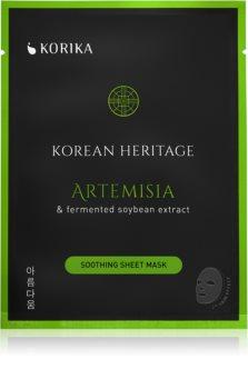 KORIKA Korean Heritage maska łagodząca w płacie