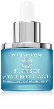 KORIKA Korean Heritage nawilżające serum do twarzy z 8 rodzajami kwasu hialuronowego