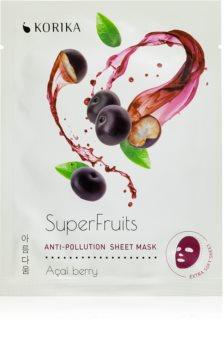 KORIKA SuperFruits plátýnková maska s detoxikačním účinkem