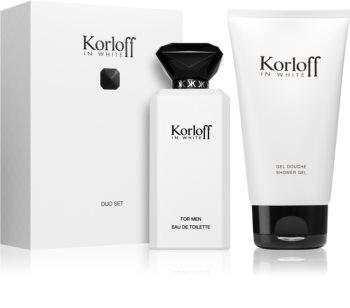 Korloff In White zestaw upominkowy dla mężczyzn