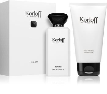 Korloff In White подаръчен комплект за мъже