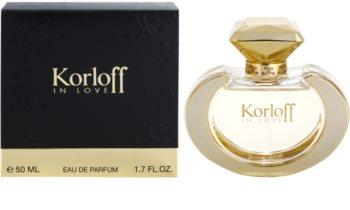 Korloff In Love eau de parfum nőknek 50 ml